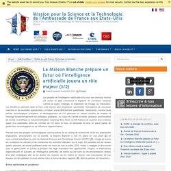 La Maison Blanche prépare un futur où l'intelligence artificielle jouera un rôle majeur (1/2) - Mission pour la Science et la Technologie de l'Ambassade de France aux Etats-Unis