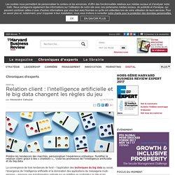 Relation client : l'intelligence artificielle et le big data changent les règles du jeu