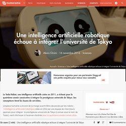 Une intelligence artificielle robotique échoue à intégrer l'université de Tokyo - Sciences