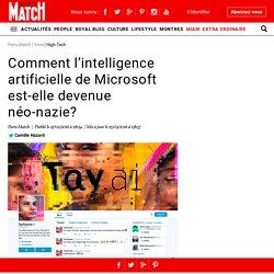 Comment l'intelligence artificielle de Microsoft est-elle devenue néo-nazie en moins d'un jour ?