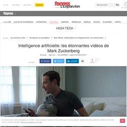 Intelligence artificielle: les étonnantes vidéos de Mark Zuckerberg