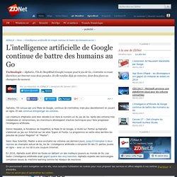 L'intelligence artificielle de Google continue de battre des humains au Go - ZDNet