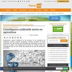 L'agriculture vit la révolution du numérique - intelligence artificielle
