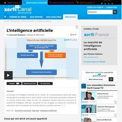 Alexandre Boulègue, Xerfi - L'intelligence artificielle - Secteurs & marchés