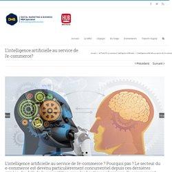 L'intelligence artificielle au service de l'e-commerce? - MBA DMB