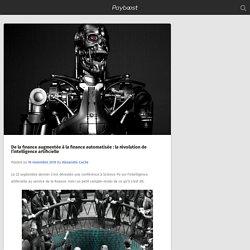 De la finance augmentée à la finance automatisée : la révolution de l'intelligence artificielle – Payboost