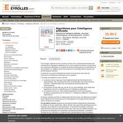 Algorithmes pour l'intelligence artificielle - P. Marquis, O. Papini,...