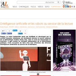 L'intelligence artificielle et les robots au service de la lecture