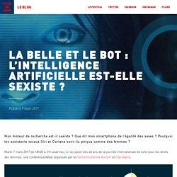 La Belle et le Bot : l'intelligence artificielle est-elle sexiste ? - Futur en Seine