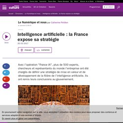 Intelligence artificielle : la France expose sa stratégie