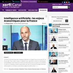 Intelligence artificielle : les enjeux économiques pour la France - Stratégie & Management