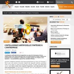 L'intelligence artificielle s'intègre à l'entreprise