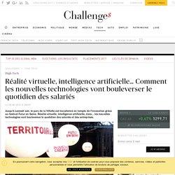 Réalité virtuelle, intelligence artificielle… la révolution du monde du travail a commencé - Challenges.fr