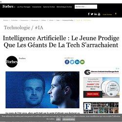 Intelligence Artificielle : Le Jeune Prodige Que Les Géants De La Tech S'arrachaient