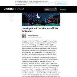 L'Intelligence Artificielle, au-delà des fantasmes - D.Views
