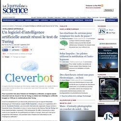 Un logiciel d'intelligence artificielle aurait réussi le test de Turing › Technologie