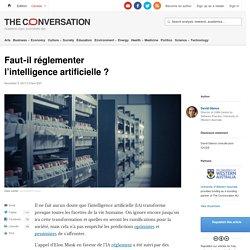 Faut‑il réglementer l'intelligence artificielle ?