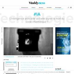 #IA : L'intelligence artificielle va-t-elle signer la mort du code informatique