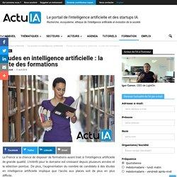 Études en intelligence artificielle : la liste des formations