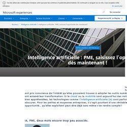 Intelligence artificielle : PME, saisissez l'opportunité ...