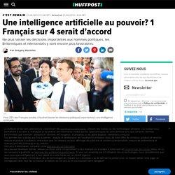 Une intelligence artificielle au pouvoir? 1 Français sur 4 serait d'accord