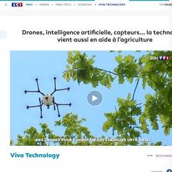 Drones, intelligence artificielle, capteurs... la technologie vient aussi en aide à l'agriculture
