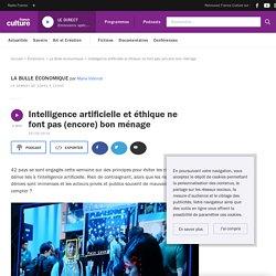 Intelligence artificielle et éthique ne font pas (encore) bon ménage