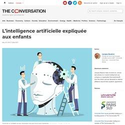 L'intelligence artificielle expliquée auxenfants