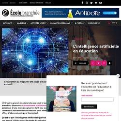 DOSSIER - L'intelligence artificielle en éducation