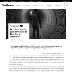 Deep Learning, le grand trou noir de l'intelligence artificielle - Maddyness - Le Magazine des Startups Françaises