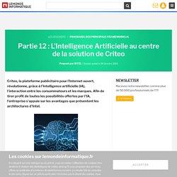 L'Intelligence Artificielle au centre de la solution de Criteo