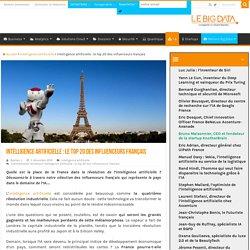 Intelligence artificielle : le top 20 des influenceurs français