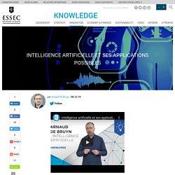 Intelligence artificielle et ses applications possibles