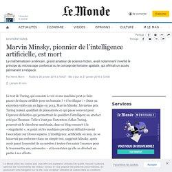 Marvin Minsky, pionnier de l'intelligence artificielle, est mort