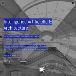 "EXPOSITION ""intelligence artificielle et architecture"""