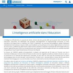 L'intelligence artificielle dans l'éducation