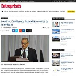 Covid-19 : L'intelligence Artificielle au service de la médecine - Entreprises Magazine