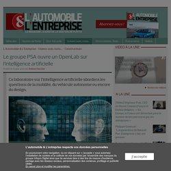 Le groupe PSA ouvre un OpenLab sur l'intelligence artificielle