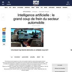 Intelligence artificielle : le grand coup de frein du secteur automobile