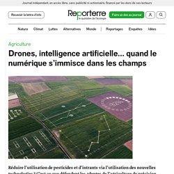 REPORTERRE 12/06/20 Drones, intelligence artificielle… quand le numérique s'immisce dans les champs