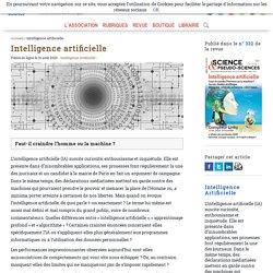 Intelligence artificielle - Afis Science - Association française pour l'information scientifique