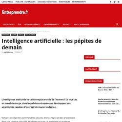 Intelligence artificielle: les pépites de demain