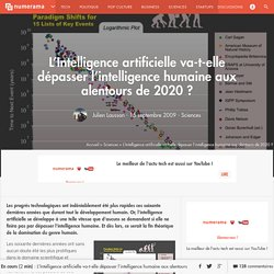 L'Intelligence artificielle va-t-elle dépasser l'intelligence h