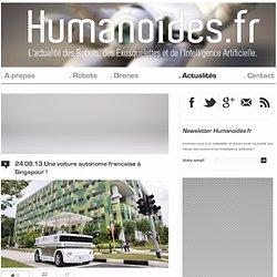 Une voiture autonome française à Singapour !