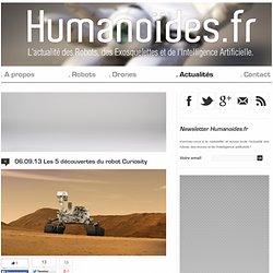 Les 5 découvertes du robot Curiosity