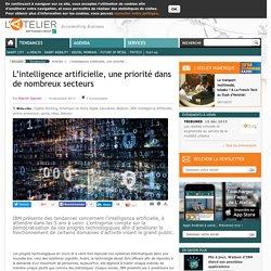 L'intelligence artificielle, une priorité dans de nombreux secteurs