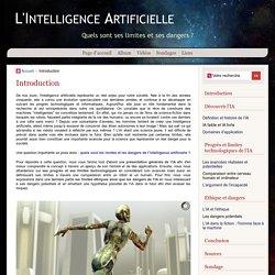 TPE : L'Intelligence Artificielle - Introduction