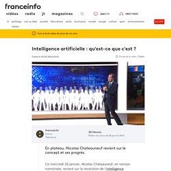 Intelligence artificielle : qu'est-ce que c'est ?