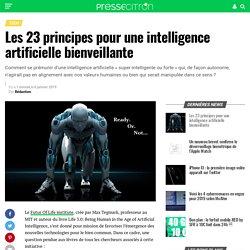 Les 23 principes pour une intelligence artificielle bienveillante