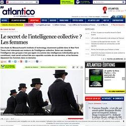 Le secret de l'intelligence collective? Les femmes